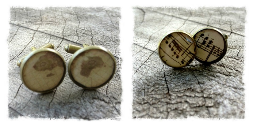 cufflinks collage