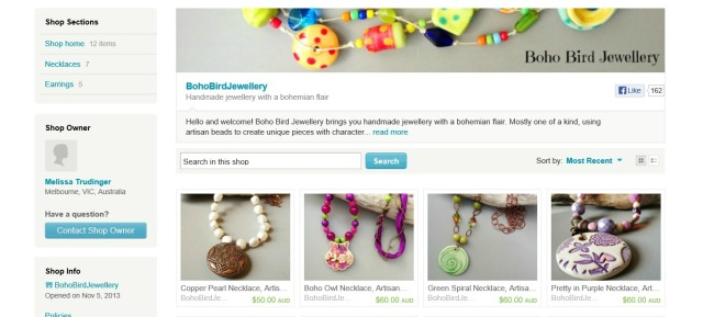 Liss's Etsy Shop