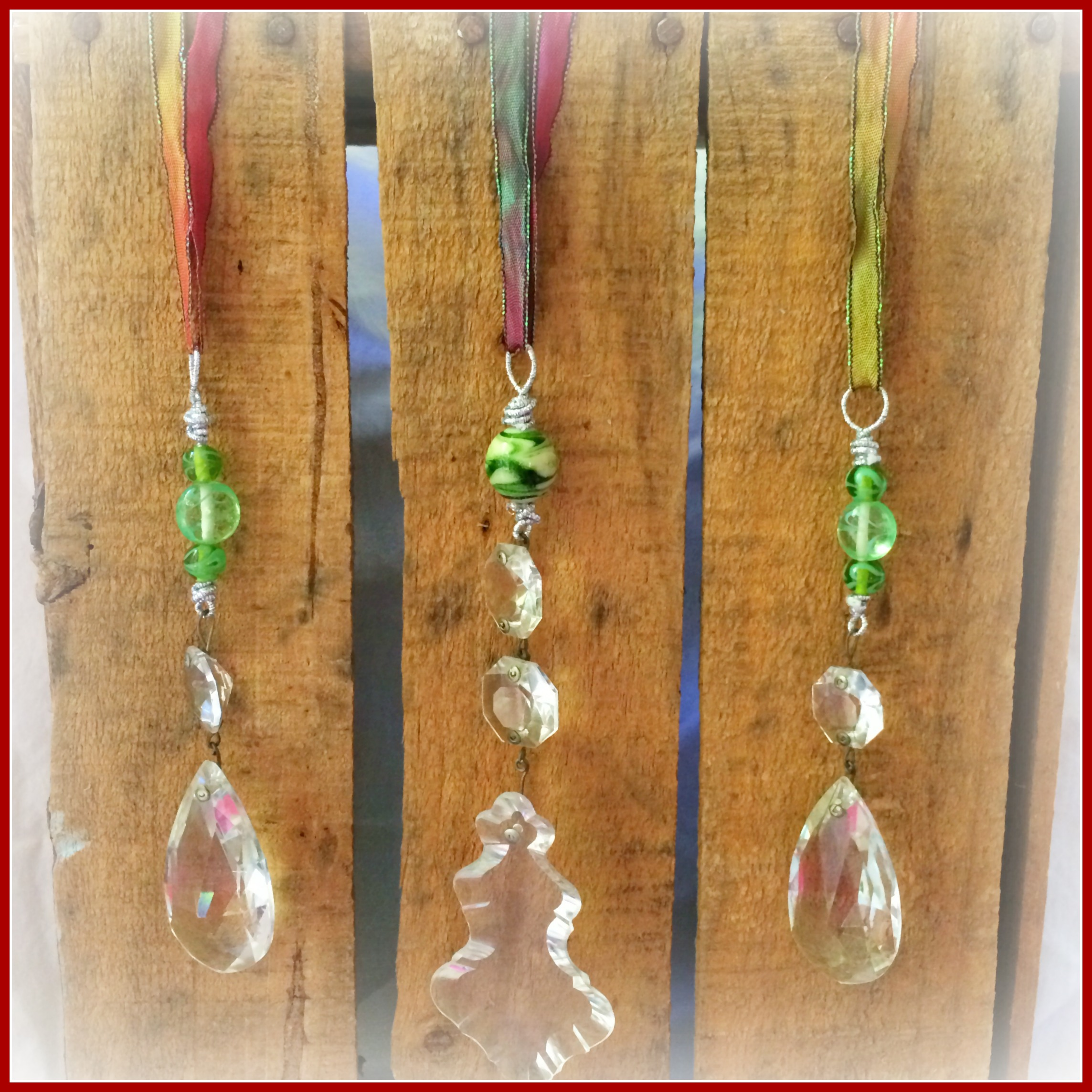 Chandelier crystal ornaments