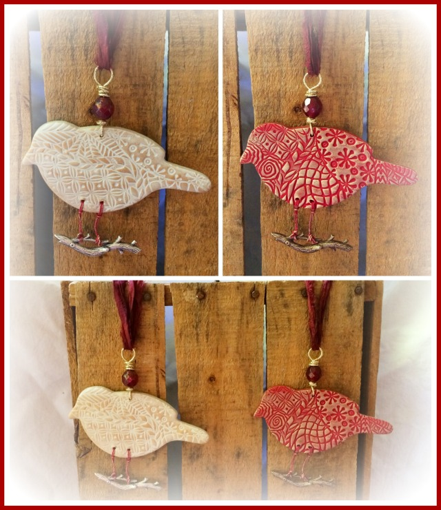 holiday birds collage 2