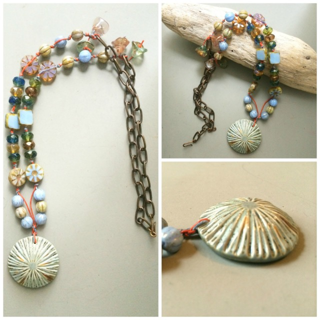 Dancers skirts necklace