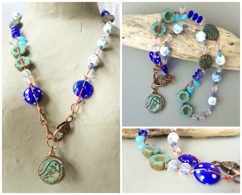 Mother knows best necklace Collage