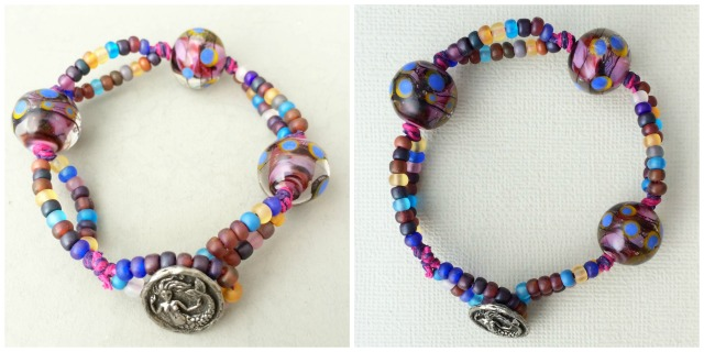 Mermaid bubbles bracelet