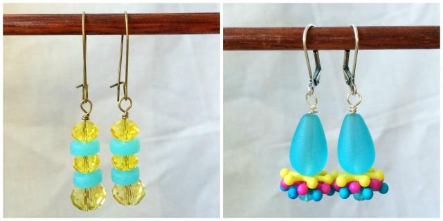 Summer carnival earrings