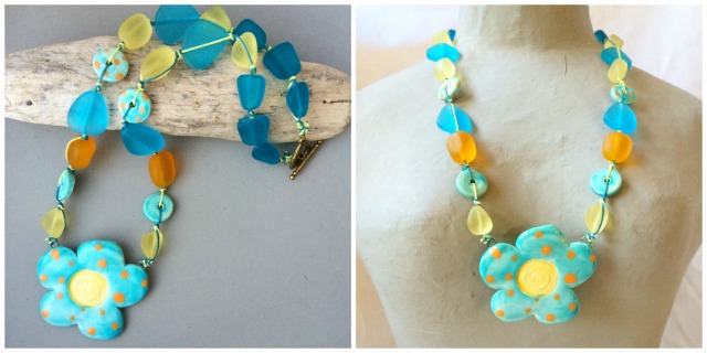 Summer carnival necklace