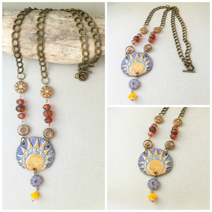Rebirth of the Sun necklace